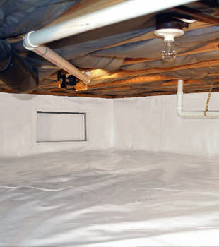 crawl space repair system in San Marcos