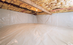 Crawl Space Moisture Barrier After in Victoria