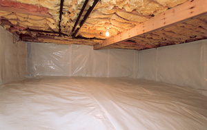 CleanSpace® vapor barrier after in Victoria